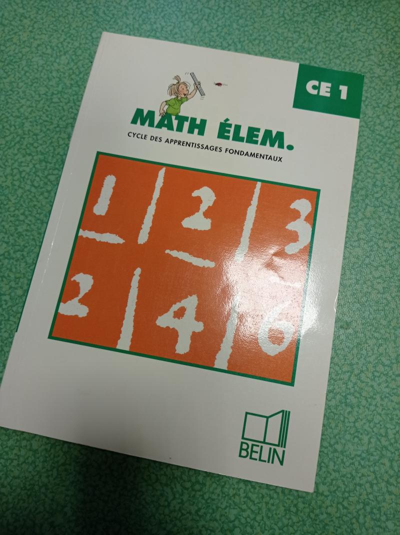 Math élem., CE1