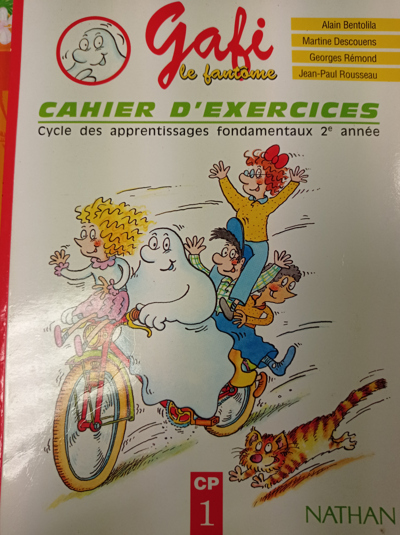 Cahier d'exercices gafi 1