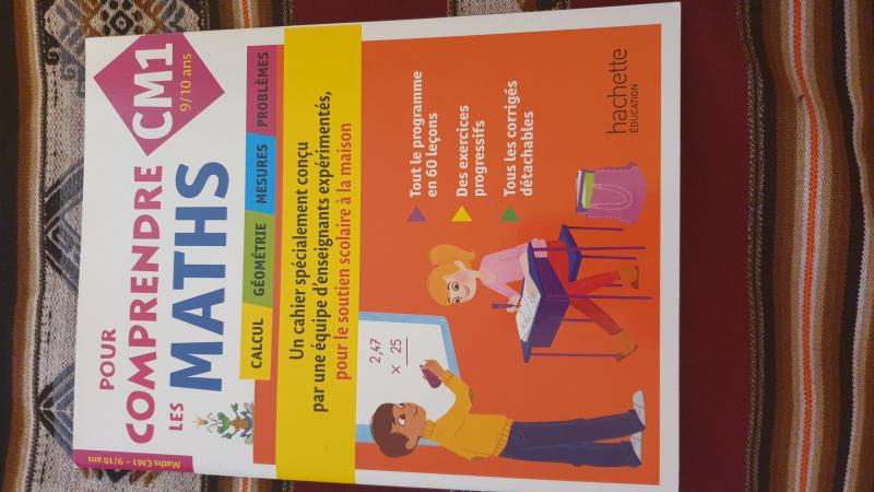 Pour comprendre les maths cahier de soutien scolaire