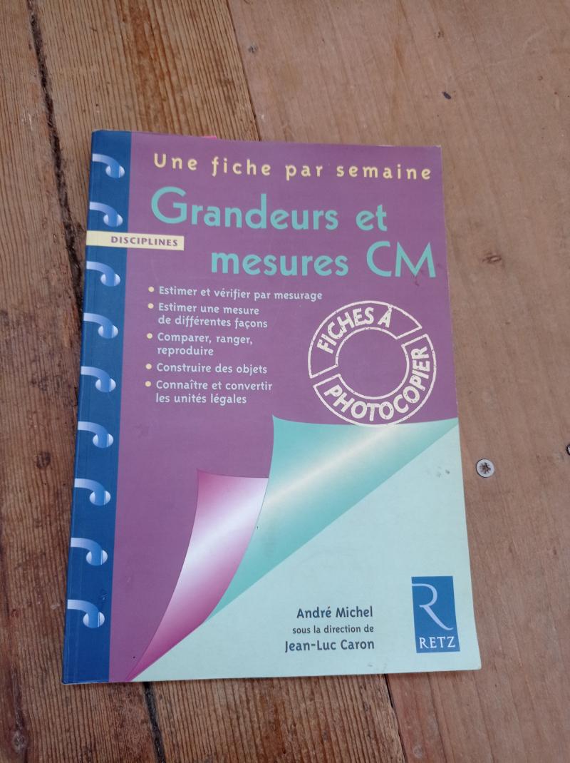 Grandeurs et mesures CM