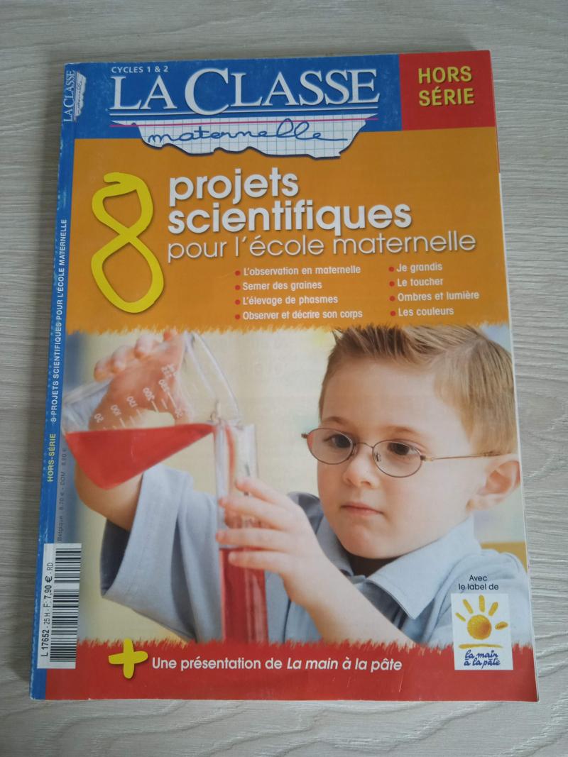 8 projets scientifiques pour l'école maternelle