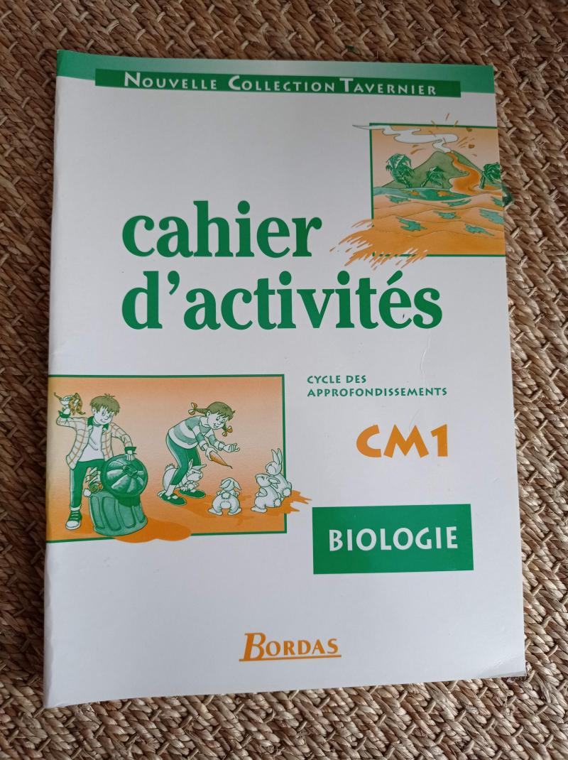 Biologie, CM1, cycle des approfondissements