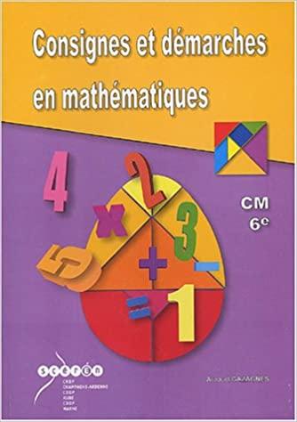 Consignes et démarches en mathématiques