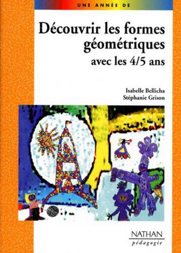 Découvrir les formes géométriques avec les 4-5 ans