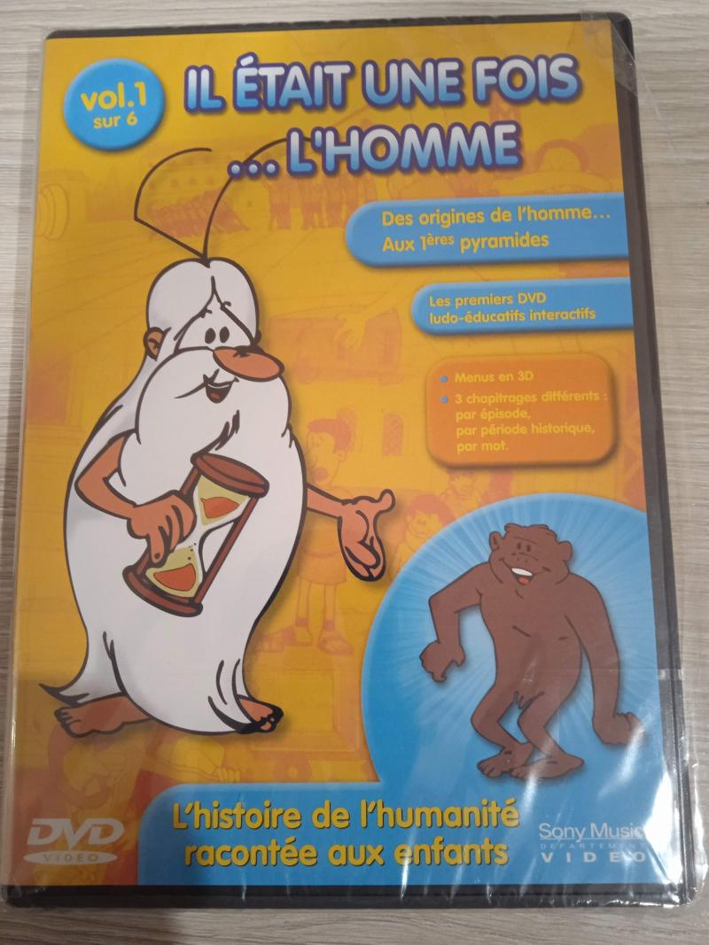 DVD Il était une fois... l'homme (5 volumes sur 6)