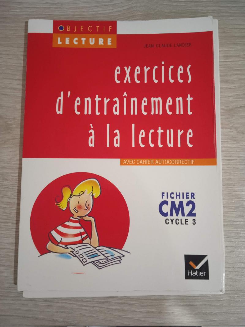 Exercices d'entraînement à la lecture