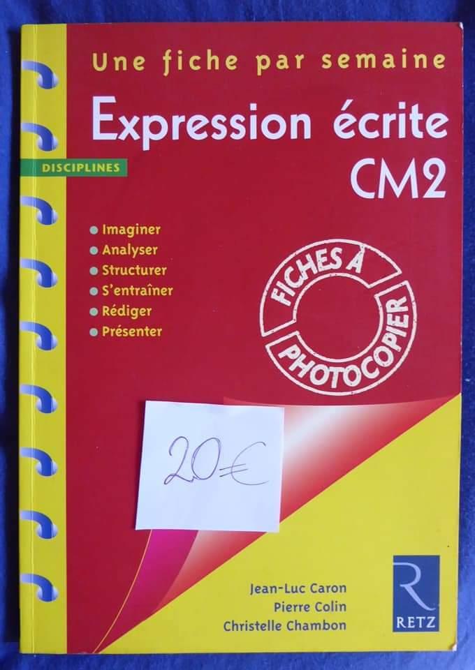 Expression écrite, CM2