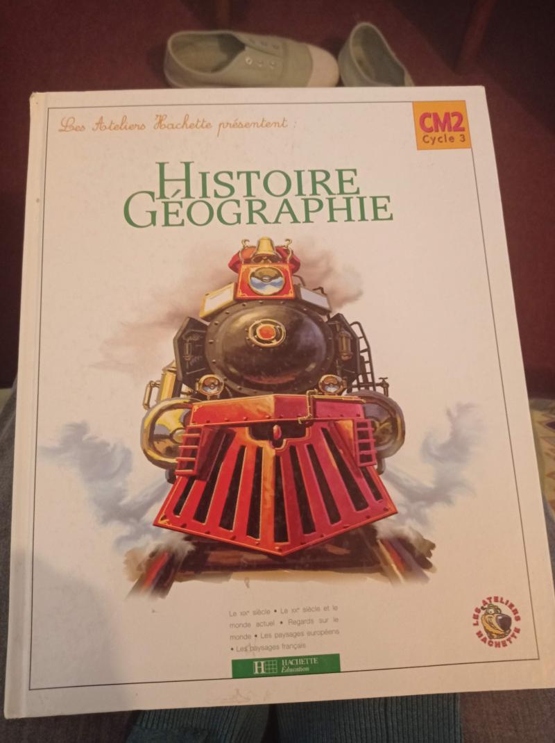 Histoire géographie, CM2, cycle 3