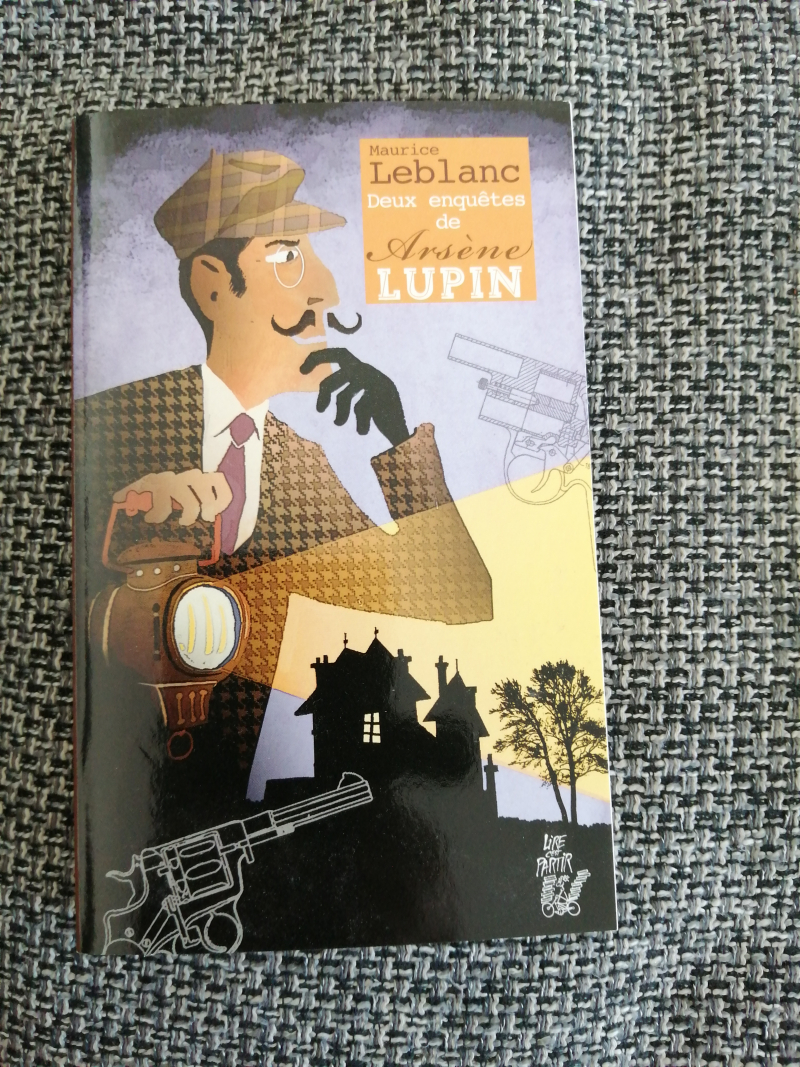 """série de 30 """"Deux enquêtes de Arsène Lupin"""""""