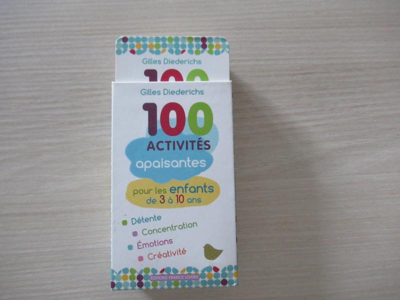 100 activités apaisantes pour les enfants
