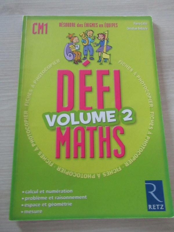 Défi mathématiques volume 2