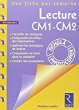 Lecture, CM1-CM2