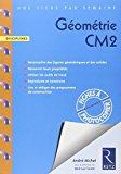 Une fiche par semaine - géométrie CM2