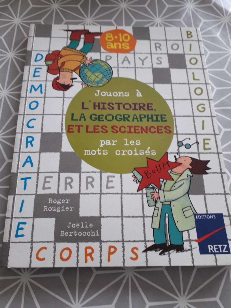 Jouons à l'histoire, la géographie et les sciences par les mots croisés