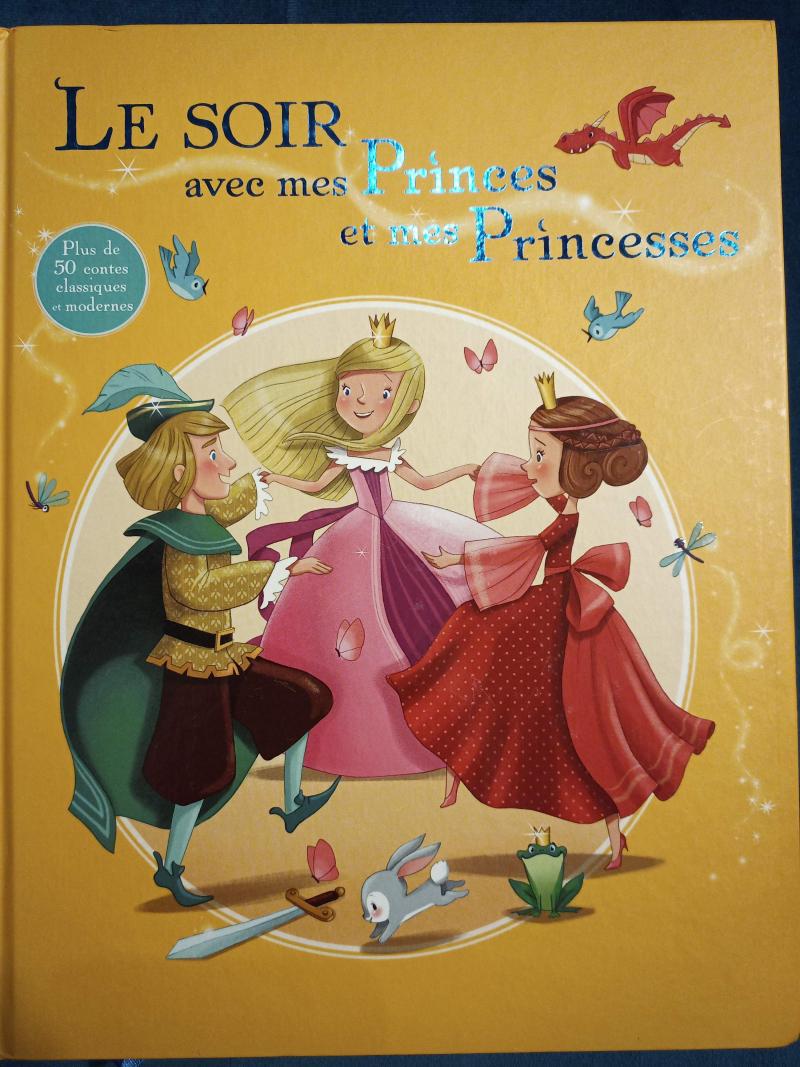 Le soir avec mes princes et mes princesses