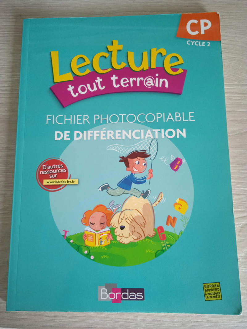 Lecture Tout Terrain Cp Fichie (french Edition)