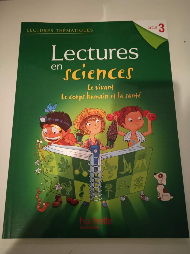 Lectures en sciences - Le vivant, le corps humain et la santé