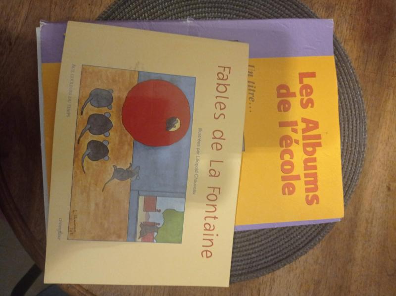 Les albums de l'école - les Fables de la Fontaine