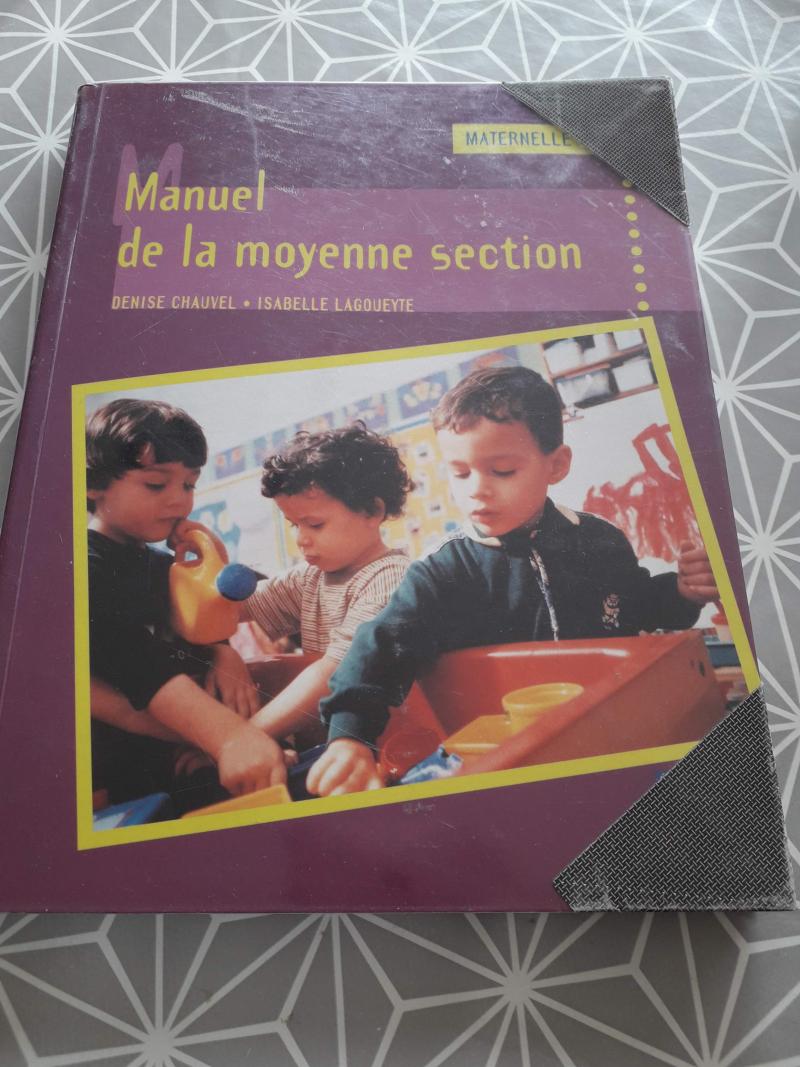 Manuel de la moyenne section