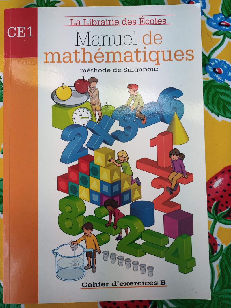 Manuel de mathématiques. Méthode de Singapour. Cahier d'exercices B