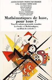 Mathématiques de base, pour tous ?
