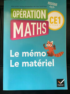 Opération Maths CE1 Le Mémo et Le Matériel
