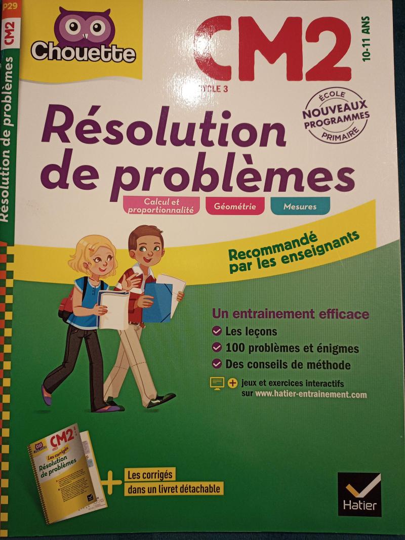Résolution de problèmes. CM2